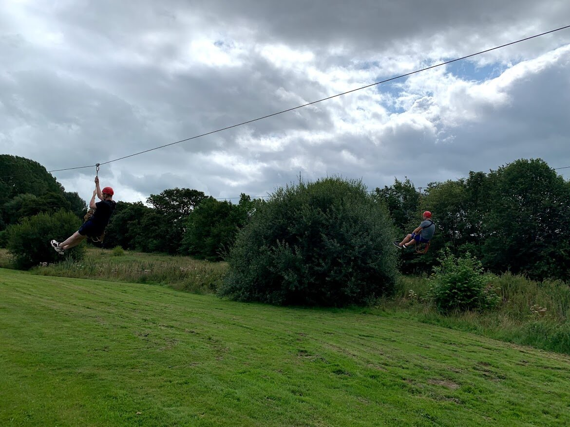 alexander & co zip wire in cheshire